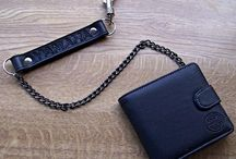 Leather Biker Wallets by Stoneysbadges.co.uk