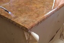 Paint Counter Top