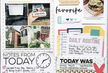 travellers notebook scrapbooking
