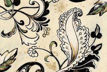 textures - motives - patterns