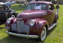 40 ,s Fords and Chevys