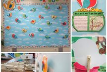 Pre School Bulletin Boards