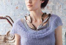 knitting in mohair