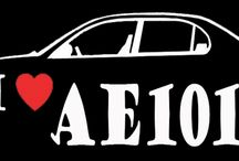 AE101 / All thing's about AE101 Corolla