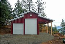 garage and sheds