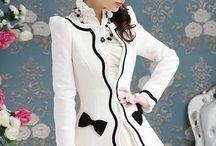 Fashıon Ladylike  Overcoat+Trench-Coat
