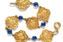 Art Nouveau Jewelry / Beautiful Art Nouveau Jewelry