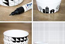 Porselen kalemi ile süsleme