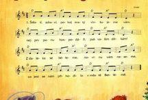 písničky a noty