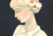 Illustrations, paintings, drawings
