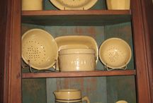 Yellow And Red Ware