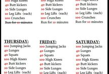Get fit / workouts/healthfoods / by Katie Keller