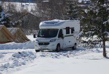 Le Caravaneige / Notre caravaneige offre une vue panoramique sur le parc national de La Vanoise, ainsi que sur nos villages. Idéale pour la randonnée et les sport de montagne, beaucoup apprécient sont calme et ses grands espace en hiver.