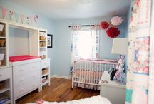 nursery & kids' rooms / by Molly Lebel