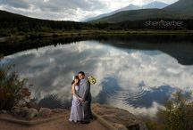 Creative wedding photography reflections / Reflections transforming an ordinary scene into something special.