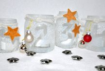 Basteln mit Babygläschen / Leere Babygläschen lassen sich prima für schöne Bastelideen recyceln.