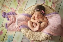 Newborn Photography Backdrops in Action
