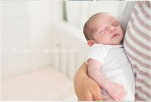 Wear Your Best for Baby / Inspiration for coordinating family outfits for newborn sessions.