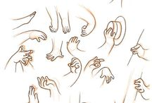 hands, manga, anime, comic, cartoon, Reference