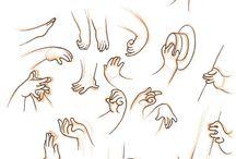 hands, manga, anime, comic, cartoon, Reference