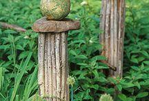 Gartenideen - Gardenideas / Sachen zum Ausprobieren im Garten Things to try in the garden