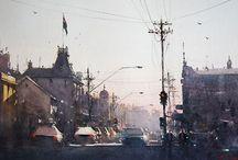 Joseph Zbukvic / Watercolor