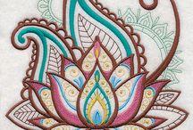 henna arm/hand