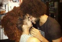 Natural Hair Love / Couples with natural hair! Love is in the air...