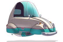 Vehicle | Cartoony