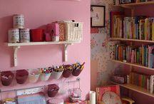 Rose craft area