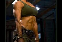US Marine fit woman