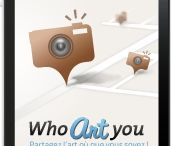 Who Art You / Who Art You is a social Network Art dedicated with a smartphone App on iPhone (Soon on Android) and a site (in french and soon in english) on whoartyou.fr