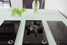Glazen aanrechtblad / Glazen aanrechtblad | keuken inspiratie | vidre glastoepassingen