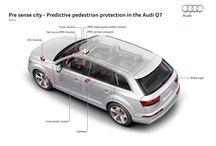 Audi Q7 / Een onafhankelijkheidsverklaring op wielen. De Audi Q7 met permanente vierwielaandrijving, de grootste bagageruimte in zijn klasse en een veelzijdig interieurconcept.