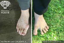 Bosé nohy