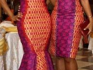 African Bridesmaid Dress