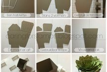 Stampin Up! Succulent plants ideas
