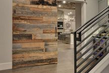 Reclaimed Wood Walls / We specialize in installing reclaimed wood walls. Follow us for tips, tricks, and contact us for quotes if your local! 801.262.3702