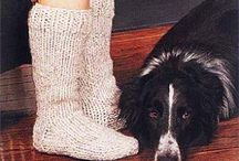 Tricot - chaussettes, chaussons… ; Knits - socks, slippers…