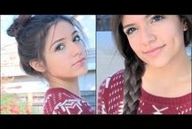 Beauty - Hair updos and tricks