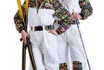 Ski Suit 80's I.
