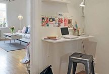 OFFICE + STUDY SPACES / Design inspiration for a home office. / by Rae Ann Kelly