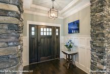 Fabulous Foyers / Welcome your guest in style with thoughtfully designed foyers from Donald Gardner Architects.