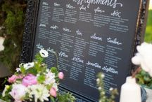Escort Cards and Signage