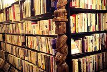 古本屋 old book shop / 古本屋の本棚・仕事