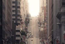 the city / san francisco love  / by Michelle Stebbins