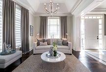 Living Room - drapes