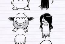 Bujo doodling