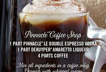 Pinnacle® Coffee Shop / A flavor for every sweater in your closet... and then some. Pinnacle® Vodka has over 40 unique flavors to discover, enjoy, and cozy up with.