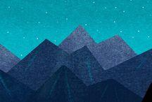 山モチーフ アイディア
